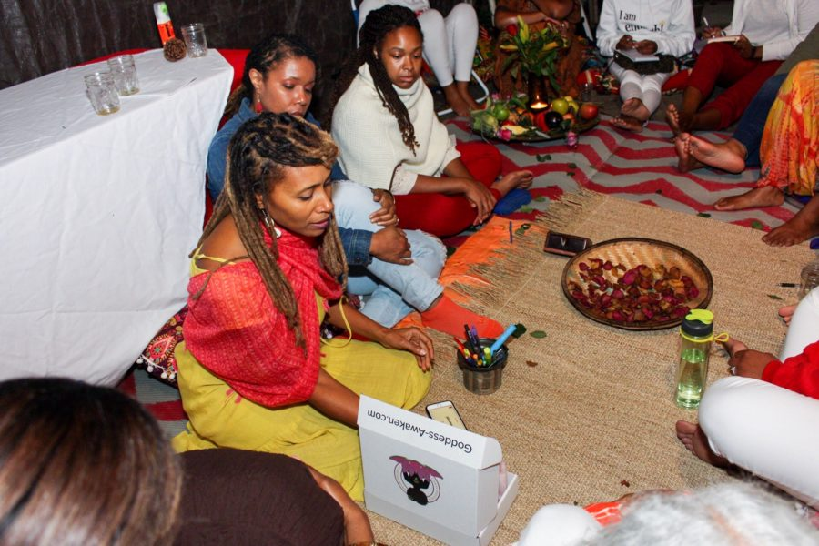 The Goddesses Gathered to Celebrate The Autumn Equinox