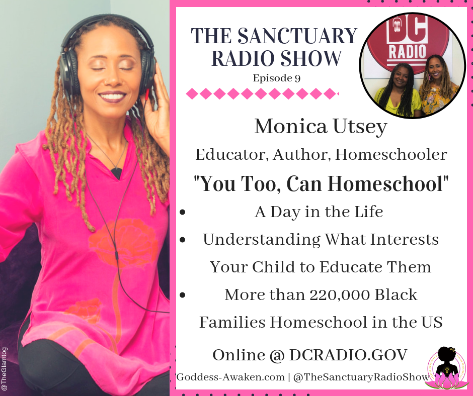 The Sanctuary Radio Show (Ep. 9): You Too, Can Homeschool