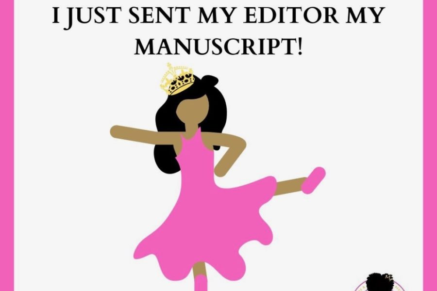 I JUST SUBMITTED MY MANUSCRIPT!