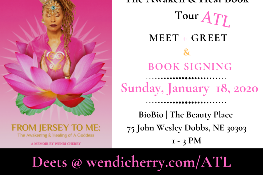 The Awaken & Heal Book Tour!  ATL & LA