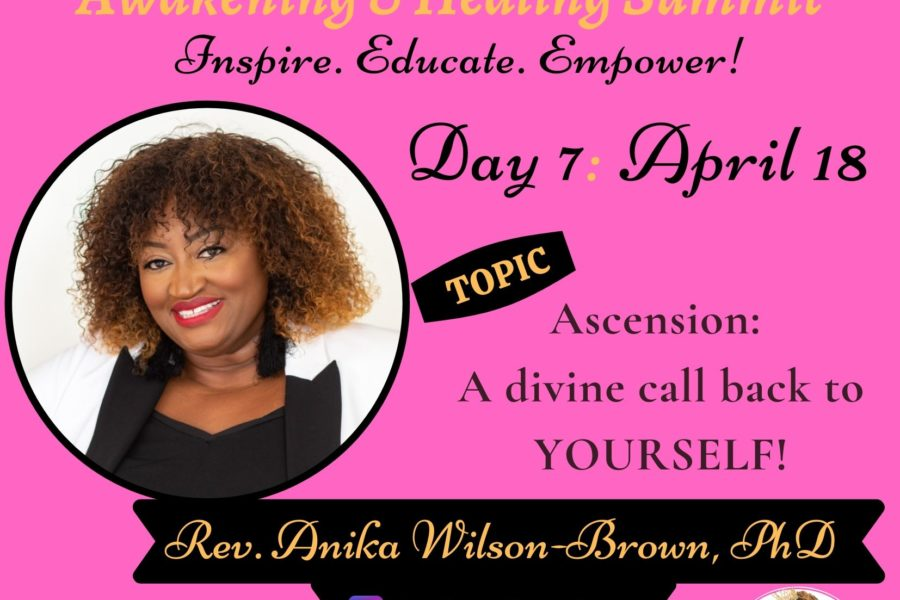Day 7: Rev. Anika Wilson-Brown, Ph.D.