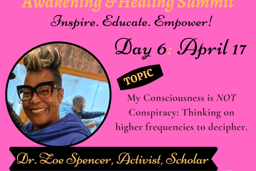 Day 6: Dr. Zoe Spencer